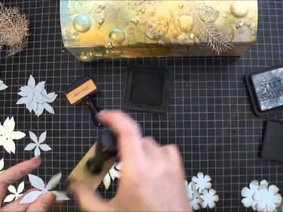 Mixed Media Art Box - Tutorial