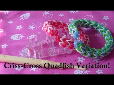 Monster Tail Tutorial: Criss-Cross Quadfish Variation 1! (Step-by-Step)!