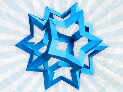 Origami Star Dodecahedron (Francesco Mancini)