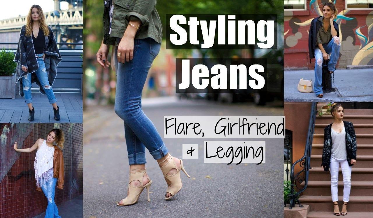 STYLING JEANS | Flare, Girlfriend & Legging