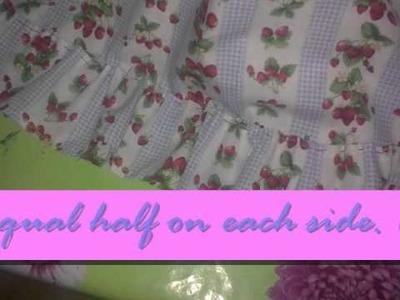 Suri- How to make a Lolita Skirt