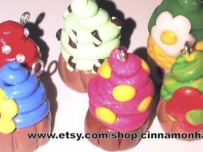 Sweet Tooth Collection ( Handmade polymer clay Jewelry)