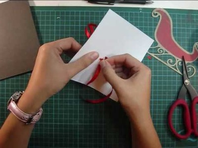 Weekend Card - Santa's Sleigh