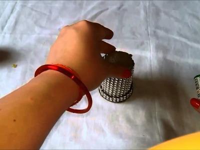 Diy designer candles-How to make designer candles for diwali decoration