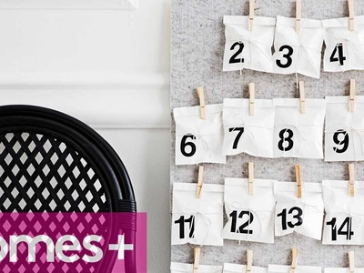 DIY IDEA: Pinboard advent calendar - homes+