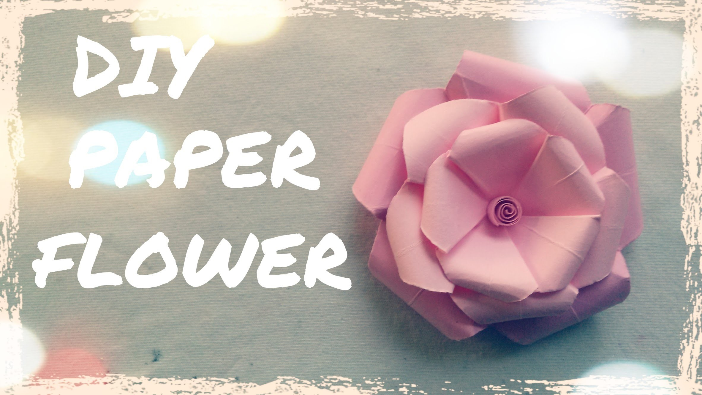 DIY Paper Flower Wedding - Diy Wedding Decorations
