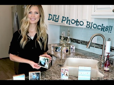 DIY Picture Blocks!!