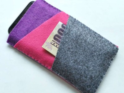 How To Create A Multi Purpose Felt Pouch - DIY Style Tutorial - Guidecentral