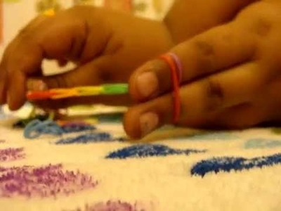 How to make a rainbow loom bracelet and ring (WITH YOUR FINGERS!!)