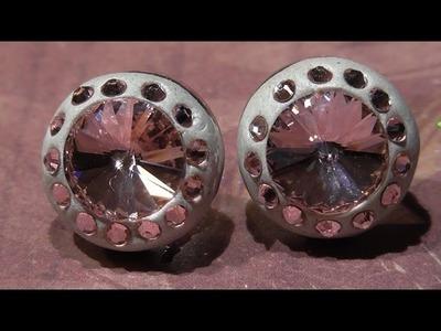 Le perline in pillole - June 2014 - Orecchini Pink Point
