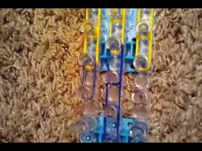Minion rainbow loom