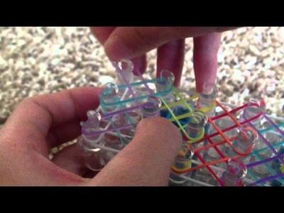 Neon Extreme Rainbow Loom Bracelet