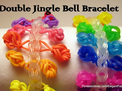 Rainbow Loom Double Jingle Bell Bracelet - How to