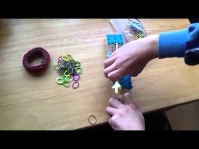 Rainbow Loom Tutorials Episode 1 The Tangled Bangle!