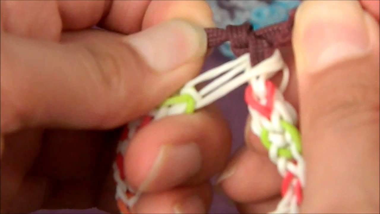 Ray Moran Presents: How to finish a Rainbow Loom Bracelet Without Clip(Knot)