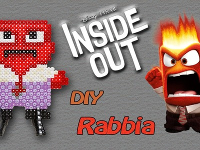 ANGER. RABBIA di Inside Out con Hama Beads - DIY Tutorial