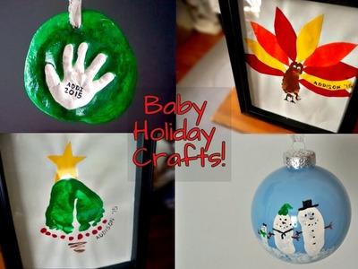 DIY BABY HOLIDAY CRAFTS.DECOR