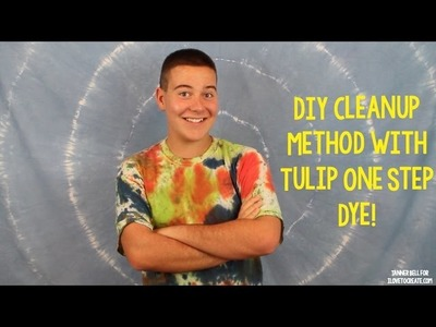 DIY Cleanup Method with Tulip One Step Dye
