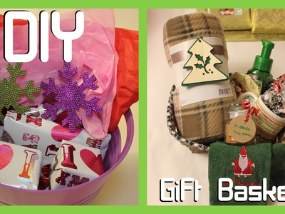 DIY Gift Baskets - Teens & Parents - Easy