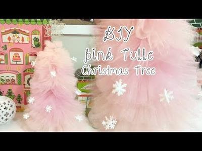 DIY ❄ Pink Tulle Christmas Tree | Charmaine Dulak