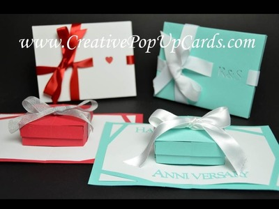 Gift Box Pop Up Card Tutorial