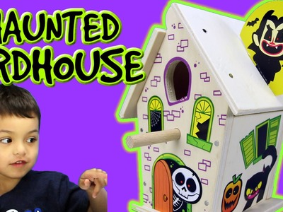 Halloween Haunted Birdhouse  DIY at Lowe's Kids Build and Grow | Kids Toy