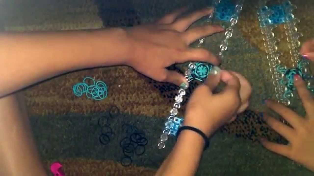How to make a 3D bouncy ball with rainbow loom.minter tail