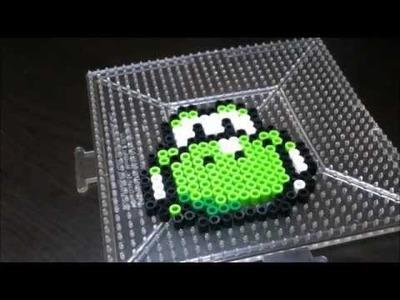 How To Make a Perler Bead Yoshi Head