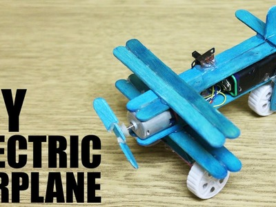 How to make an electric airplane - DIY Airplane