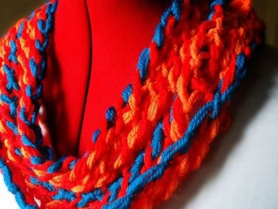 How To Make An Elegant Knotted Woolen Scarf - DIY Style Tutorial - Guidecentral