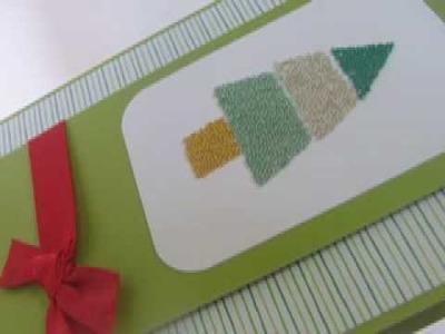 Ku-Ku CARD Christmas Beads Tree (Arbolito Mostacillas)