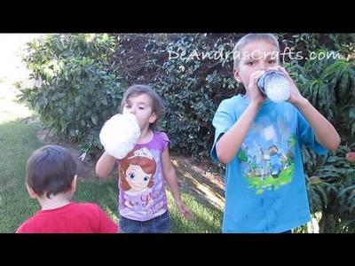 Rainbow Cloud Bubble Play