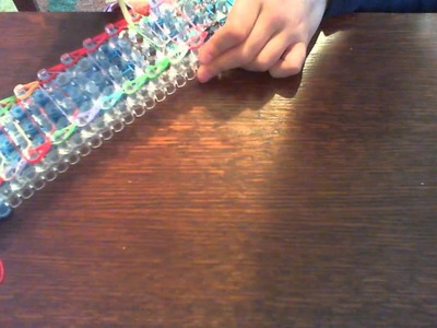 Rainbow Loom How To Make A Sailors Pinstripe 2 looms