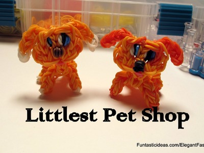 Rainbow Loom LPS Figure (Littlest Pet Shop) - How to