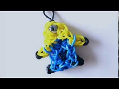 Rainbow Loom® Minion Charm in Star Burst Style