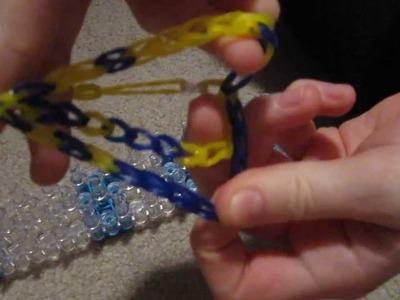 Rainbow loom: orignal tongue twister bracelet
