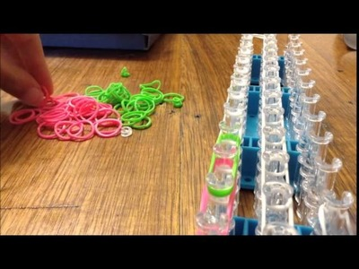 Rainbow Loom Triple Link Chain Bracelet Tutorial