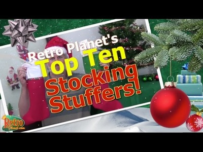 Top 10 Christmas Stocking Stuffer Ideas from Retro Planet