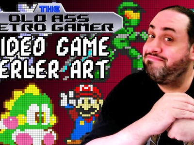Video Game Perler Art - The Old Ass Retro Gamer