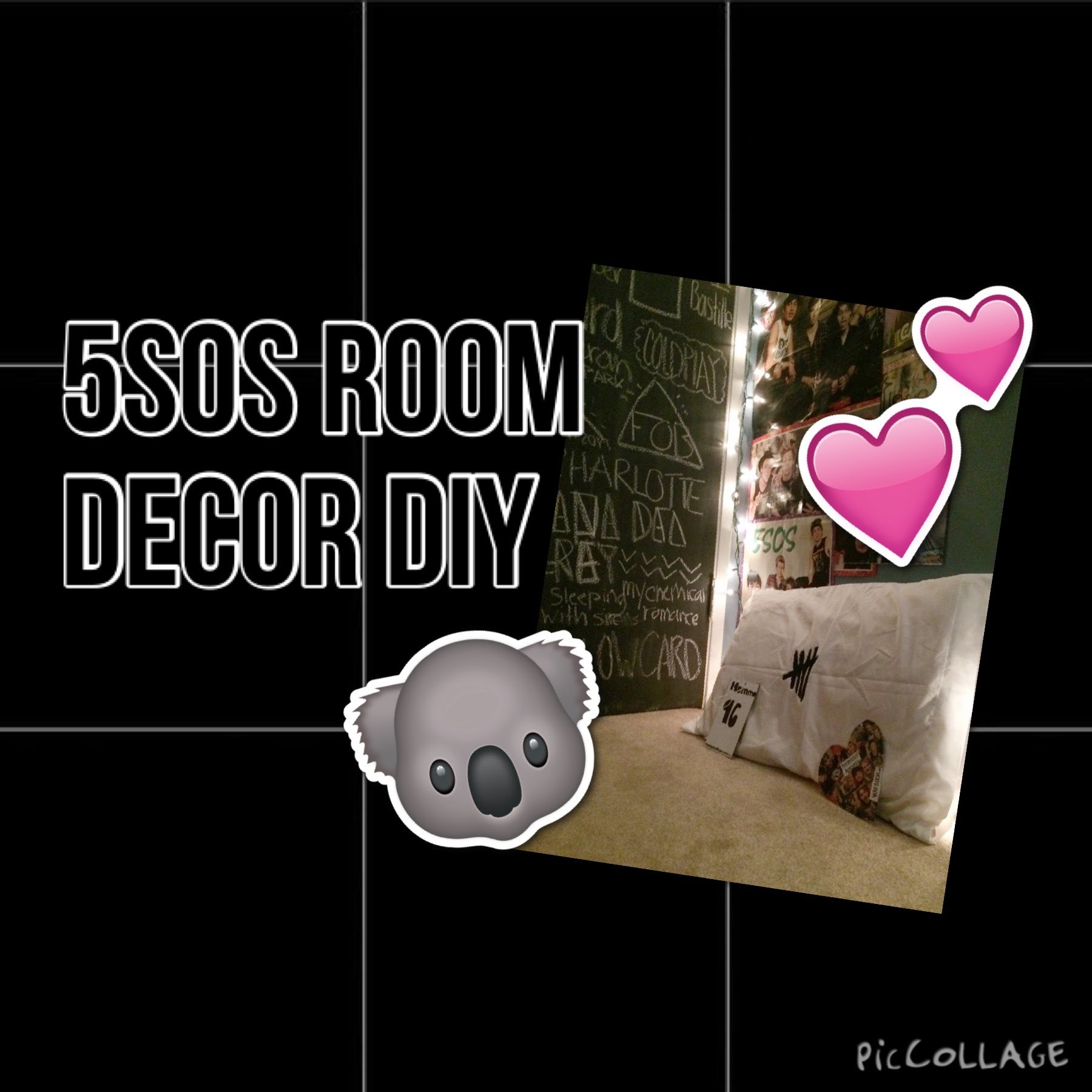 5sos Room Decor Diy Youcompletemess