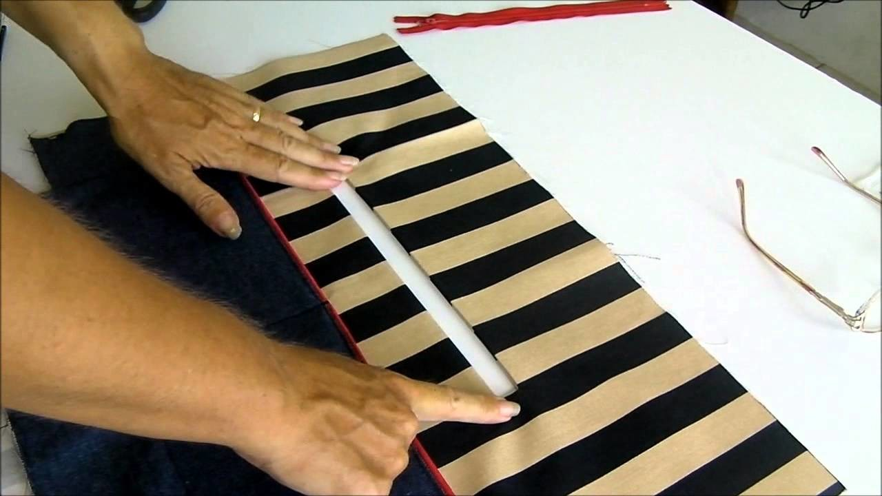 Adding a zipper pocket to a bag or purse