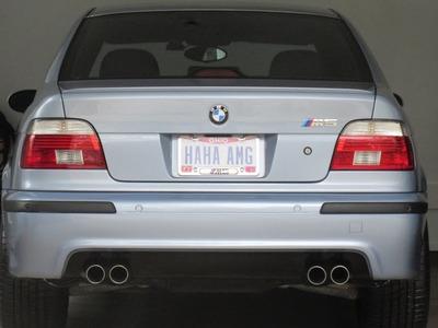 BMW E39 M5 Rear Bumper Replacement DIY