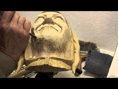 Carving Lessons with Ian Norbury - 08 - Cheeks and Nose