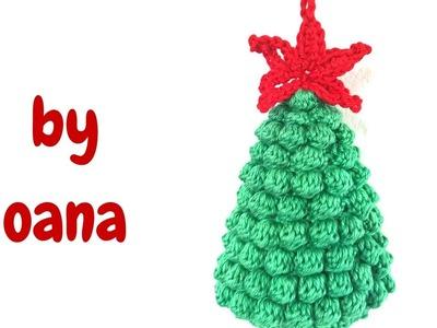 Crochet Bubbles Christmas Tree