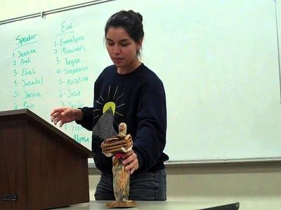 Cultural Artifact- Paper Mache Doll