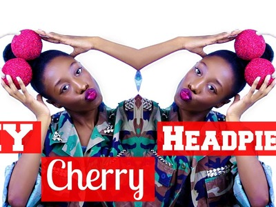DIY Cherry Headpiece | Marina And The Diamonds Inspired | Tashalala