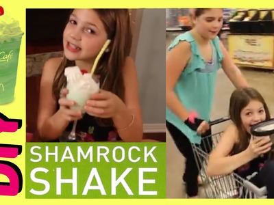 DIY McDonald's Shamrock Shakes | How to Make Shamrock Shake 6 Ingredients | Mother's Day Treat!