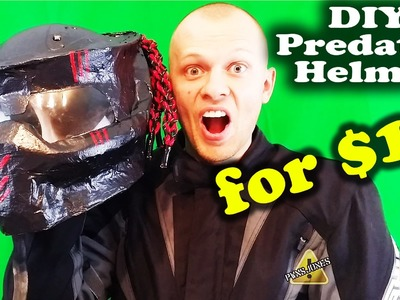 DIY Predator Helmet - Easy Way