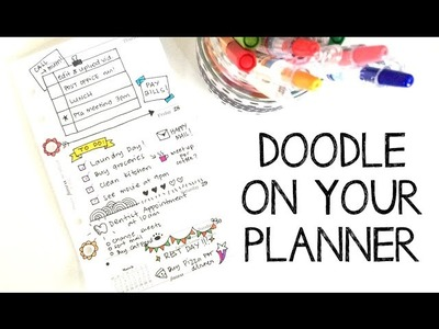 Doodle on your Planner