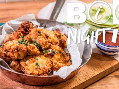 Fried Chicken & Pandan Pancakes Recipe | Big Night In